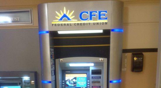 Custom Financial Sign Design I CFE Credit Union Case Study