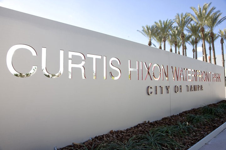 Curtis Hixon Sign