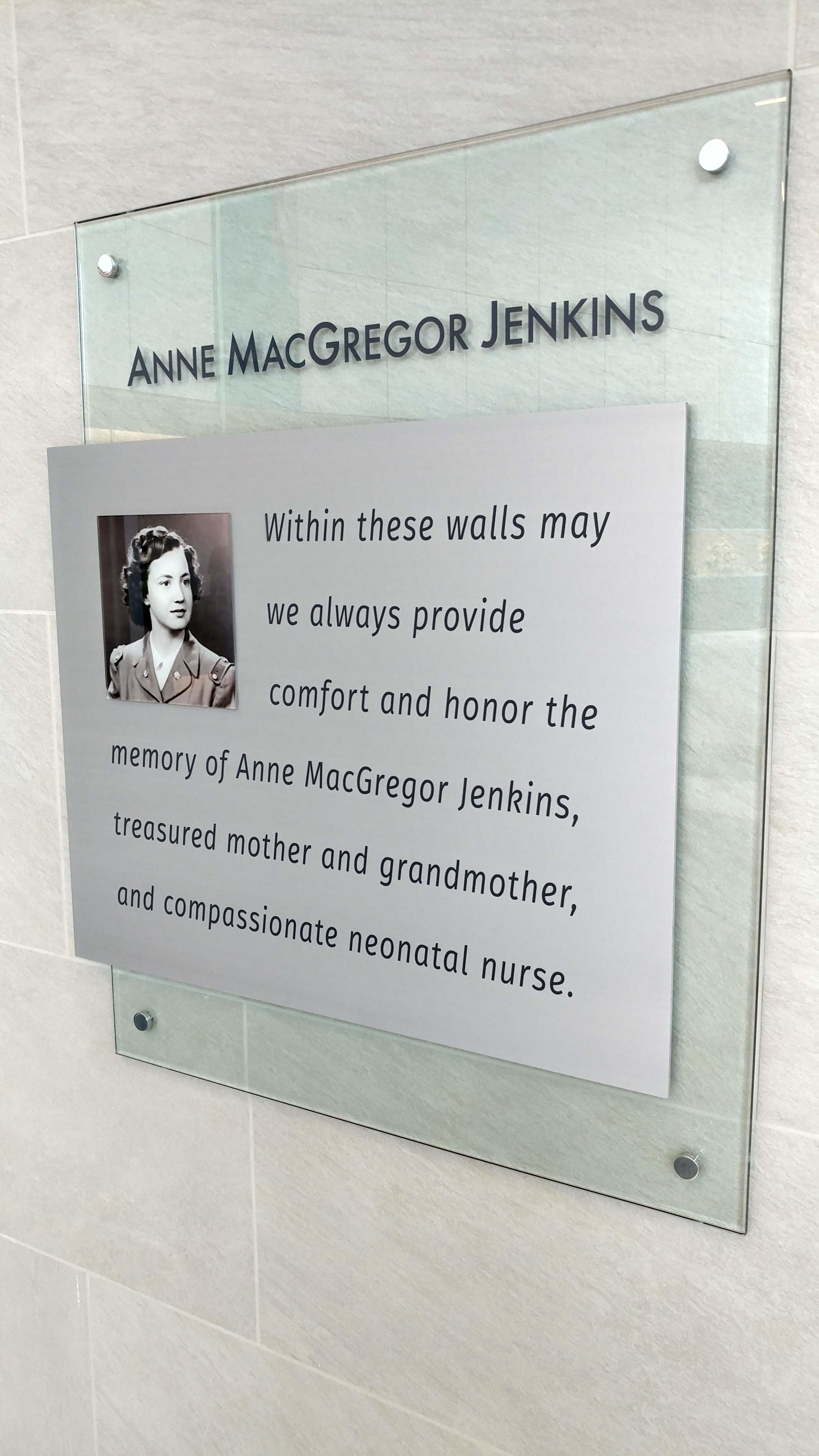 Glass Donor Recognition