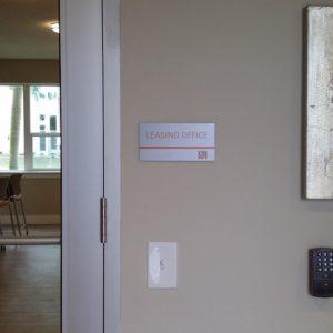 interior leasing office
