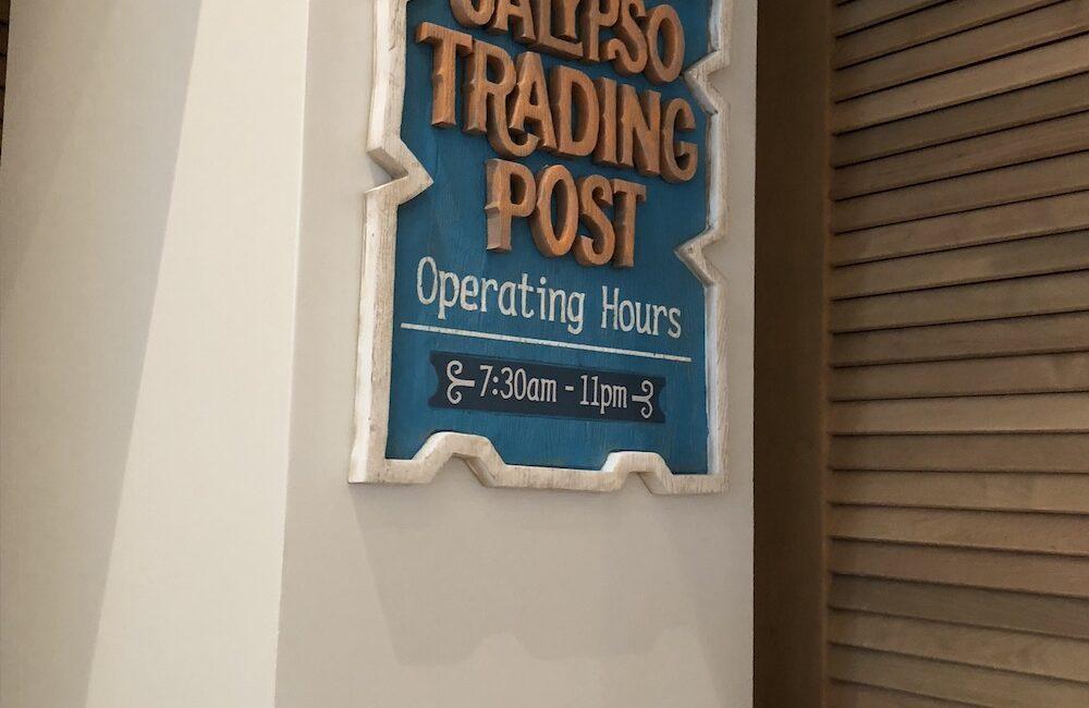 calypso trading post on column