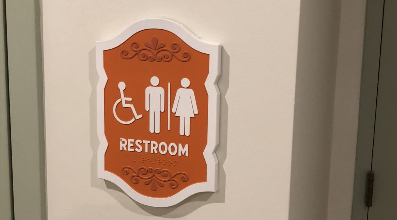 interior restroom
