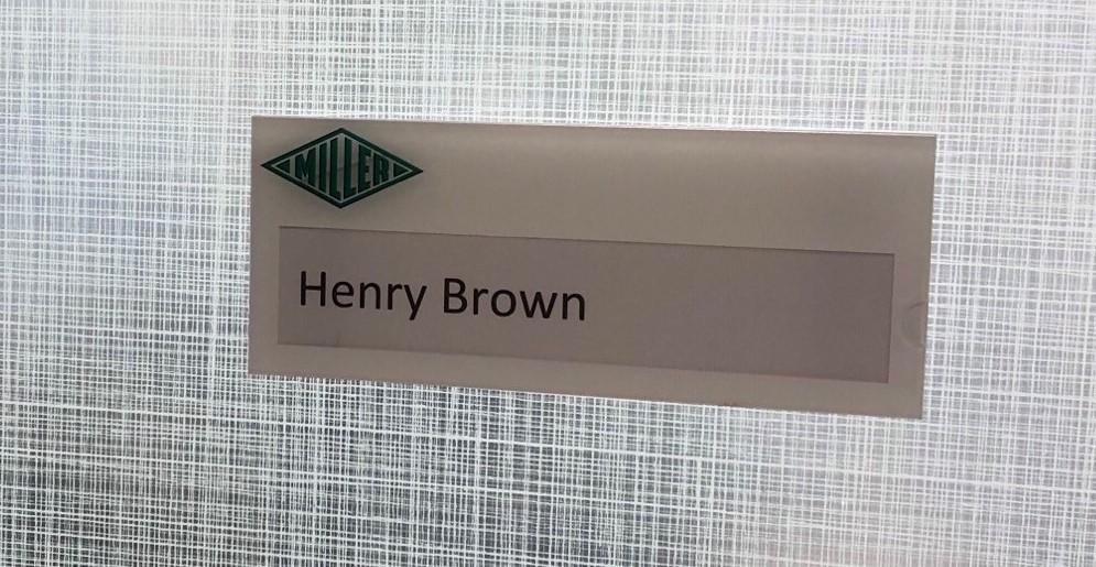 miller interior office ID signc