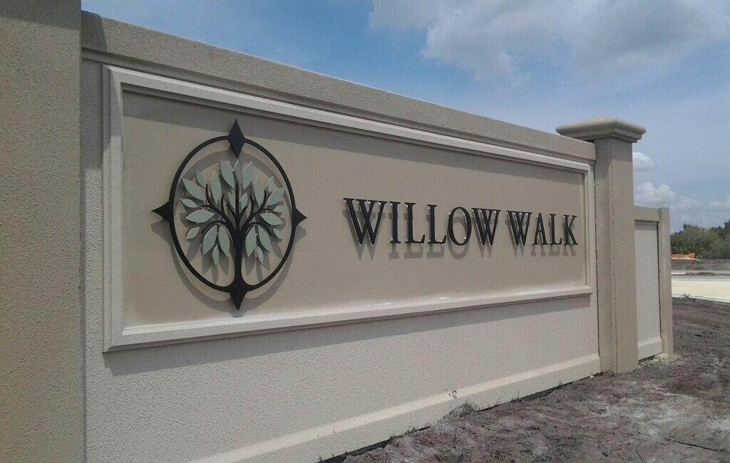 Willow Walk Entry